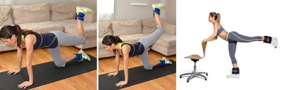 Эффективные упражнения на заднюю поверхность бедра и ягодицы
