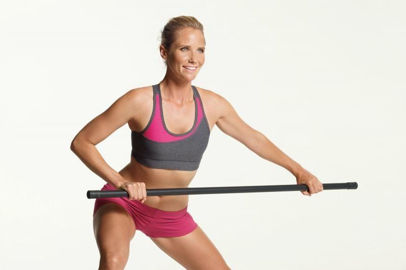 Тренировка с бодибаром: простота упражнений - леди стиль жизни