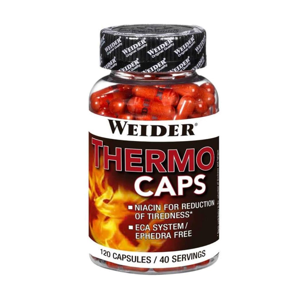 Weider thermo caps 120 капсул weider - жиросжигатели - термогеники