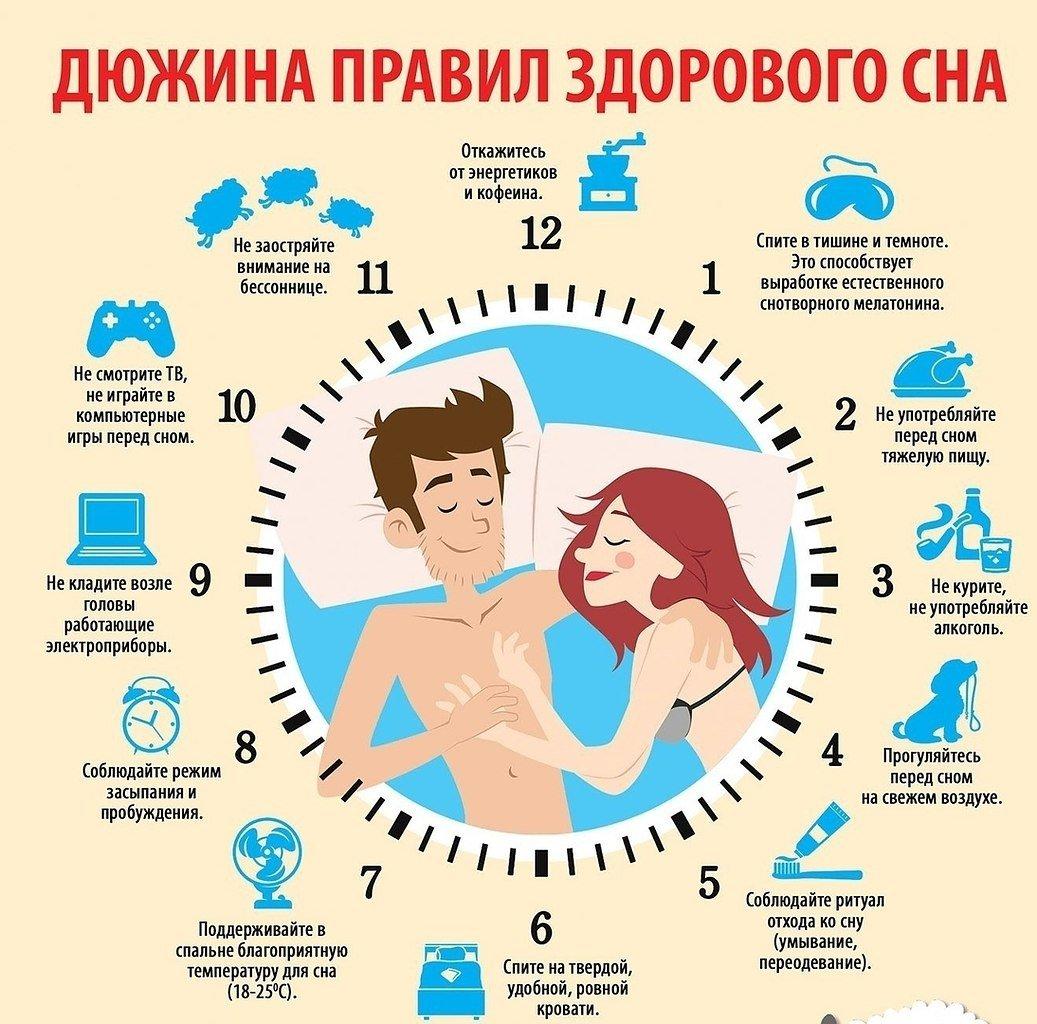 В какой позе правильно спать - сильное здоровье