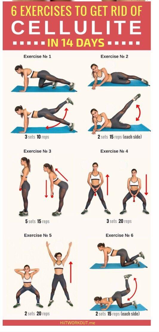 Упражнения от целлюлита - как убрать дома или в тренажерном зале с помощью приседаний, махов и стретчинга