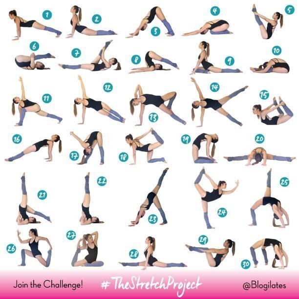 Стретчинг для начинающих — упражнения для растяжки