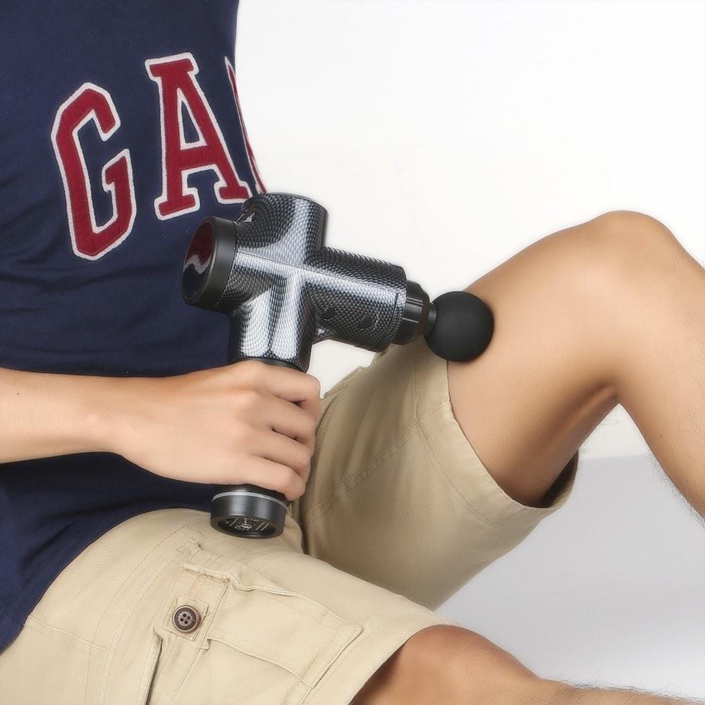 Перкуссионный массажер timtam - лучший массажный пистолет от мышечной боли