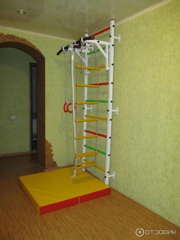 Шведская стенка для детей в квартиру: критерии выбора