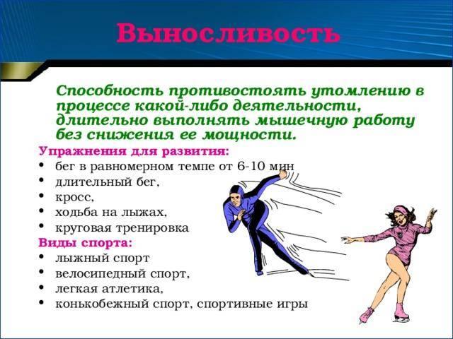 Упражнения для развития выносливости: силовой и аэробной