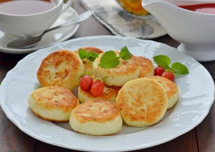 Пп сырники пошаговые классические рецепты как сделать на сковороде диетические из творога без муки, яиц, с изюмом, бананом, яблоком