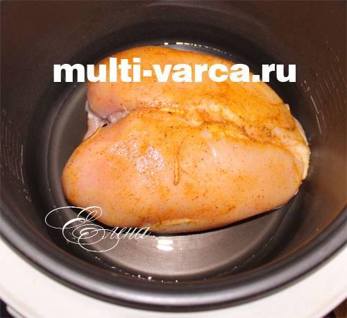 Блюда из птицы в мультиварке - рецепты