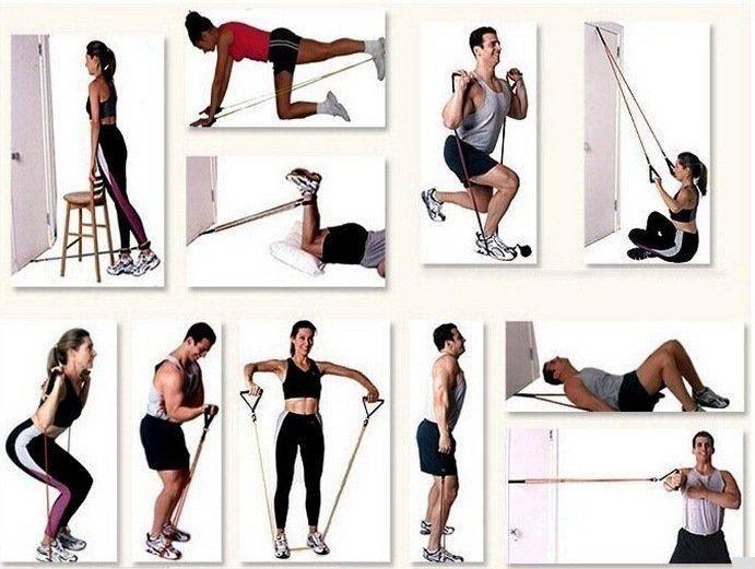 Упражнения с пружинным эспандером: для мужчин и женщин в домашних условиях