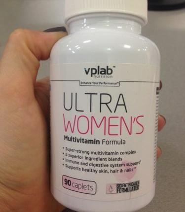 Витамины ultra women s vplab