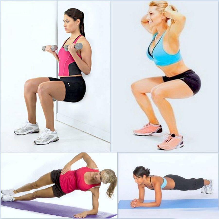 Лучшие упражнения для сжигания жира - комплекс эффективных тренировок