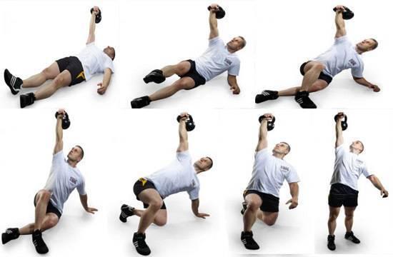 Становая тяга с гирей: классическая и вариант на прямых ногах