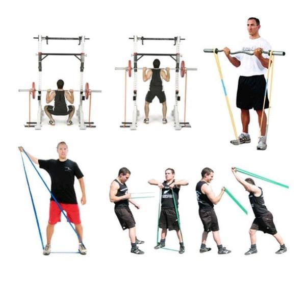 Резиновые петли: для чего нужны, где купить + 25 упражнений (фото)
