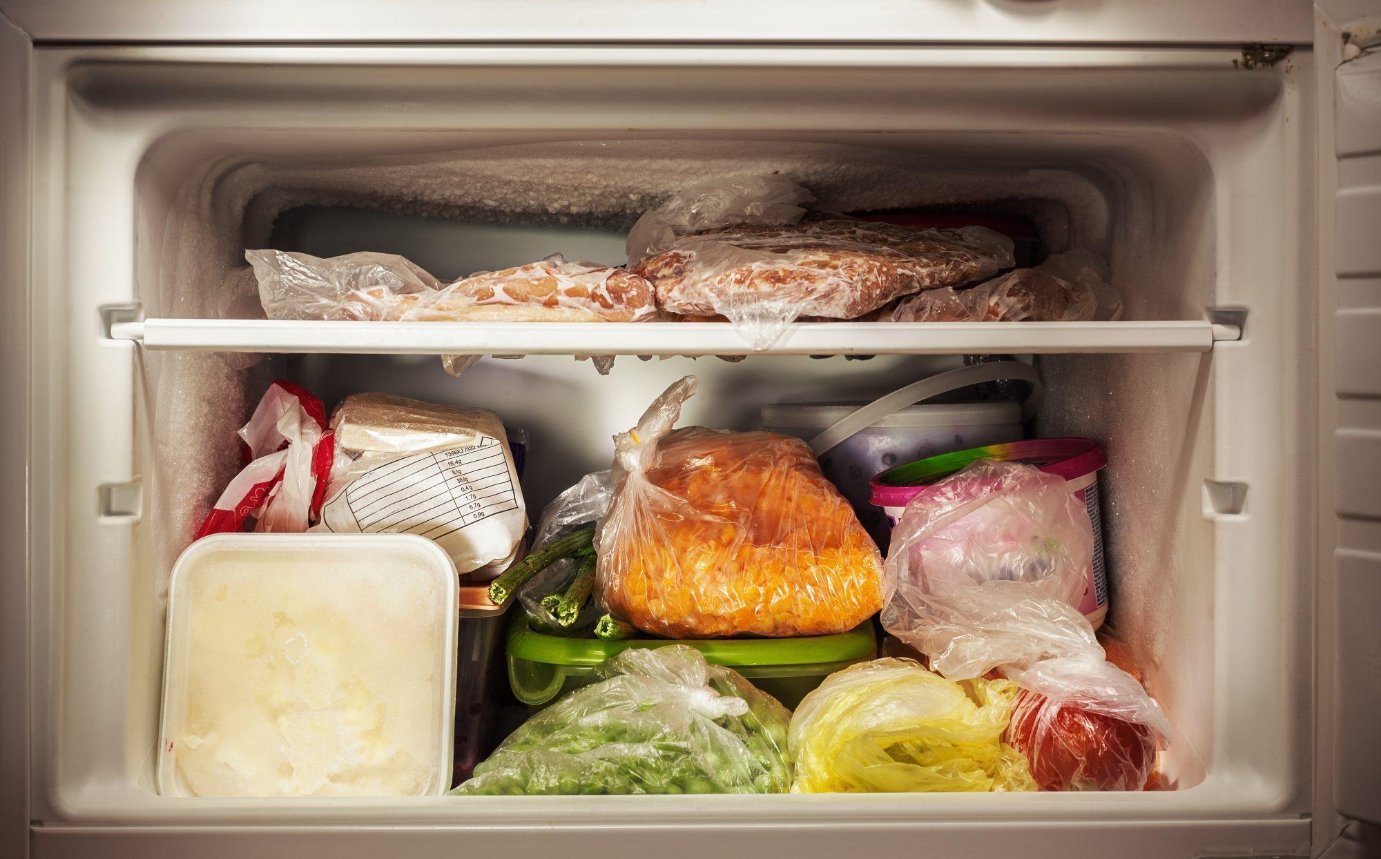 Продукты питания которые можно и нельзя замораживать