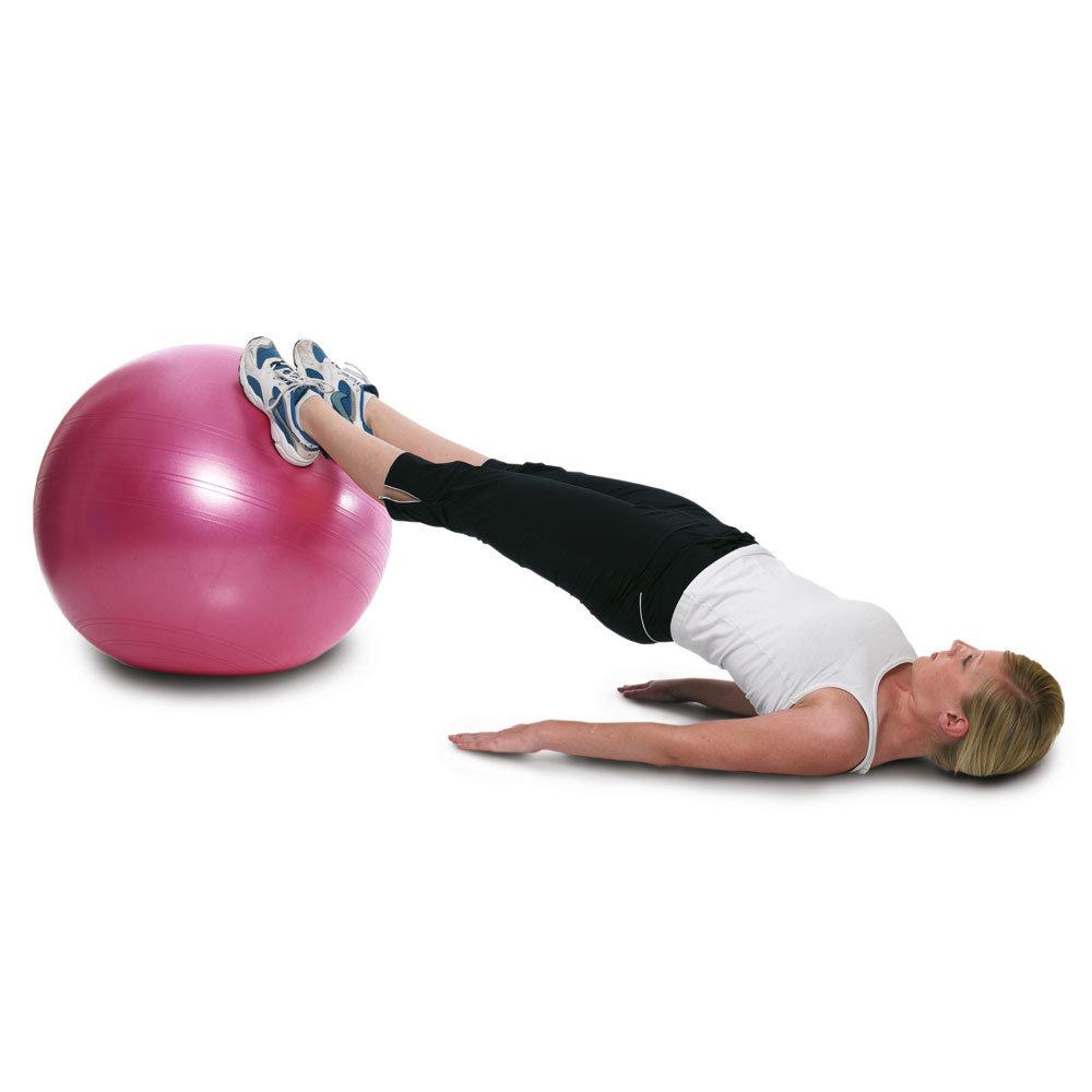 Упражнения на мяче для похудения живота — самые эффективные