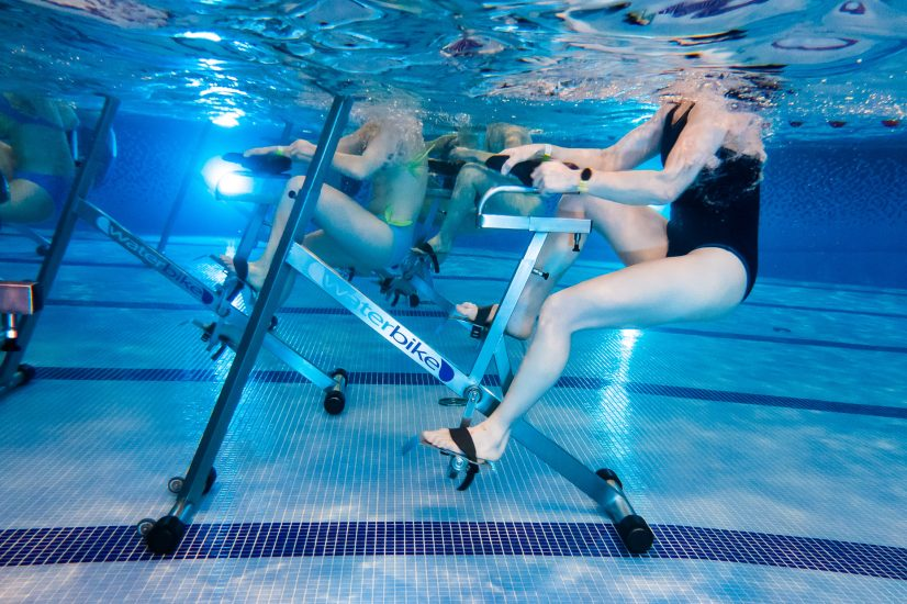 Плавание для мышц