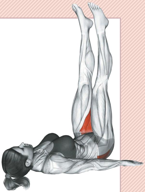 Подъем ног лежа: тренировка нижнего пресса для придания рельефа
