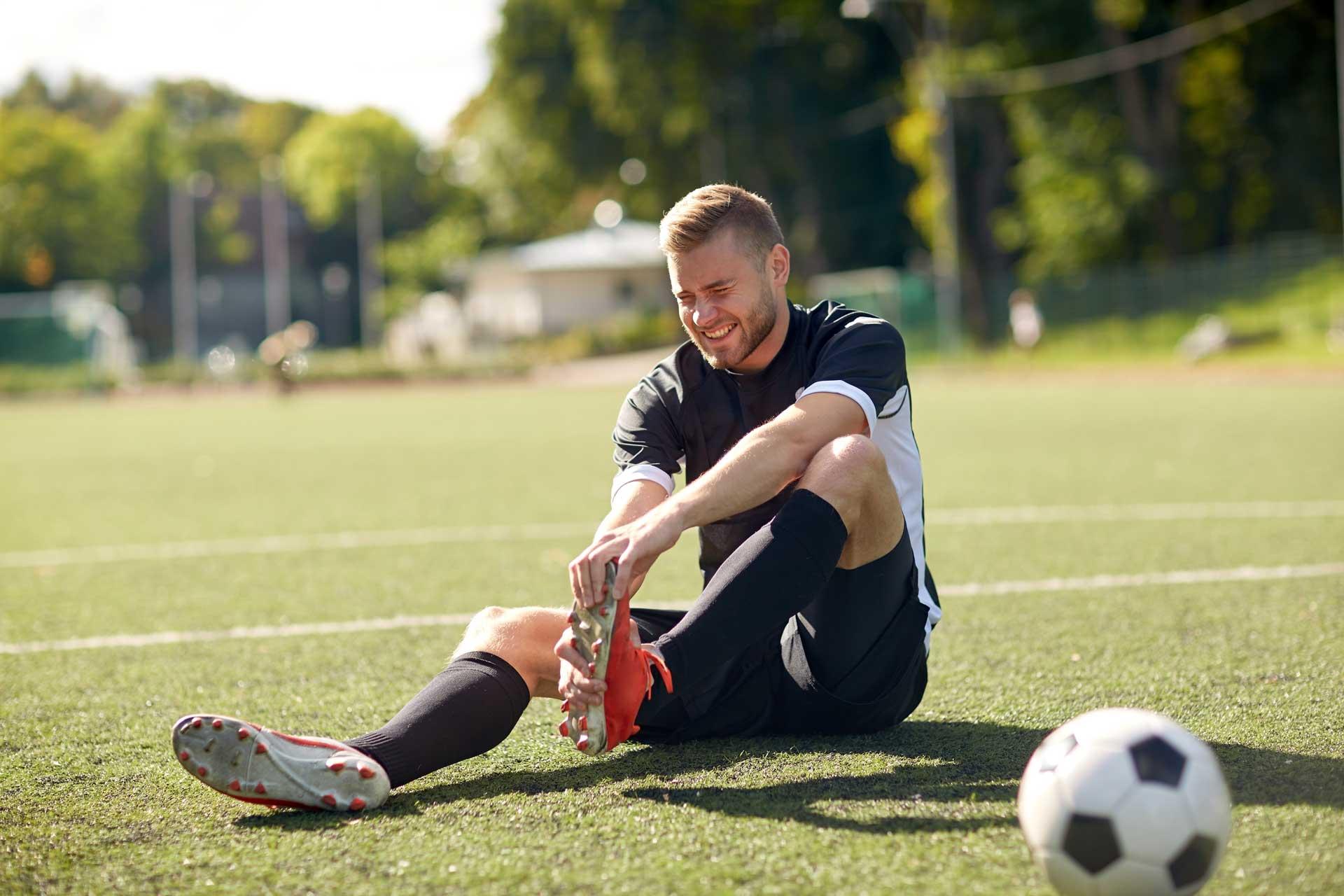 Профилактика травм в футболе | запитание