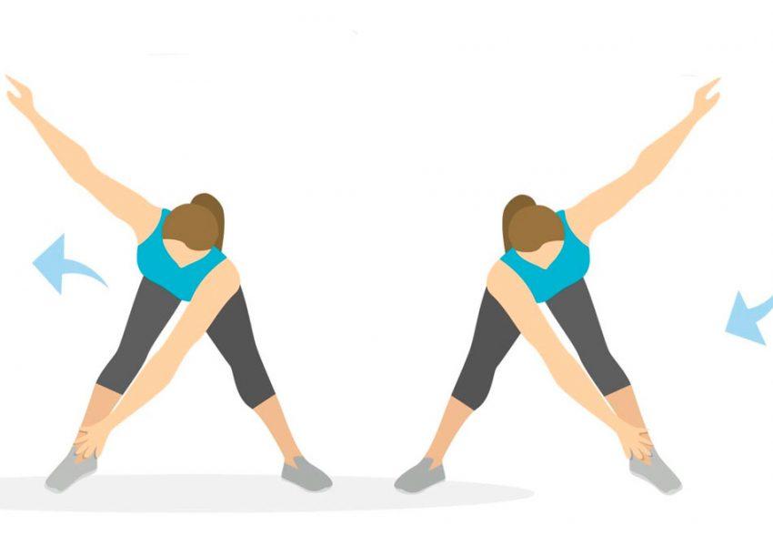 Как делать упражнение мельница для боков - спорт, красота и здоровье