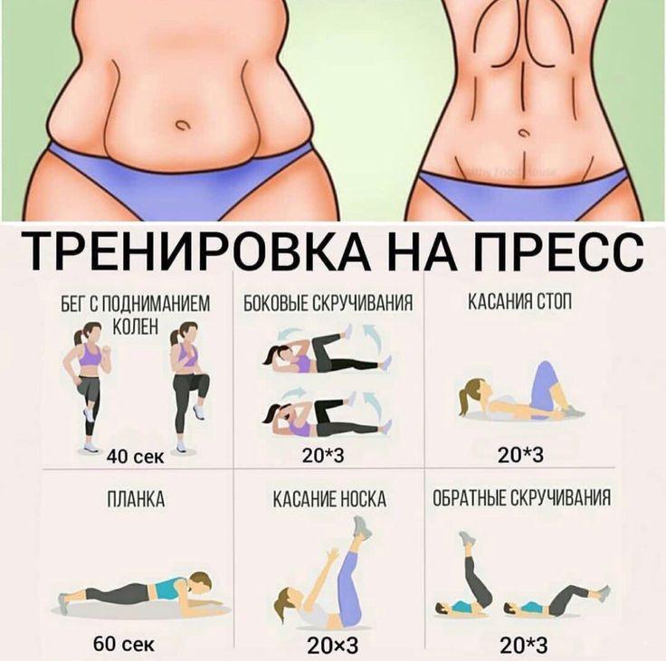 Как быстро похудеть в животе в домашних условиях: упражнения и диета