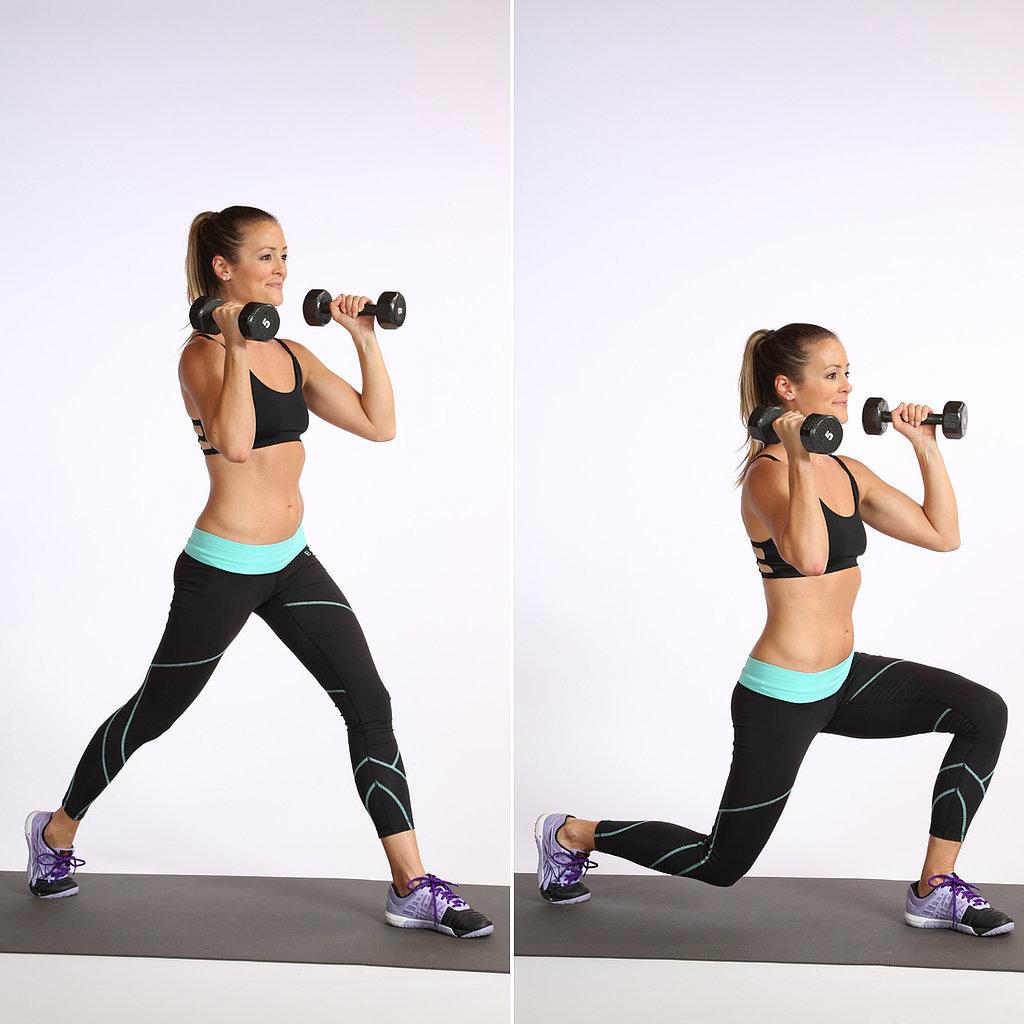 Эффективные упражнения с гантелями на пресс для женщин | proka4aem.ru