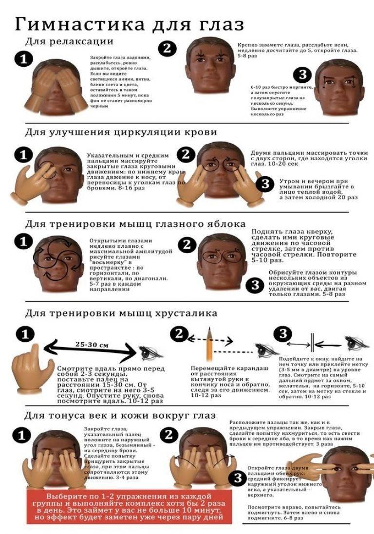 Восстановление зрения у детей: 4 эффективных упражнения