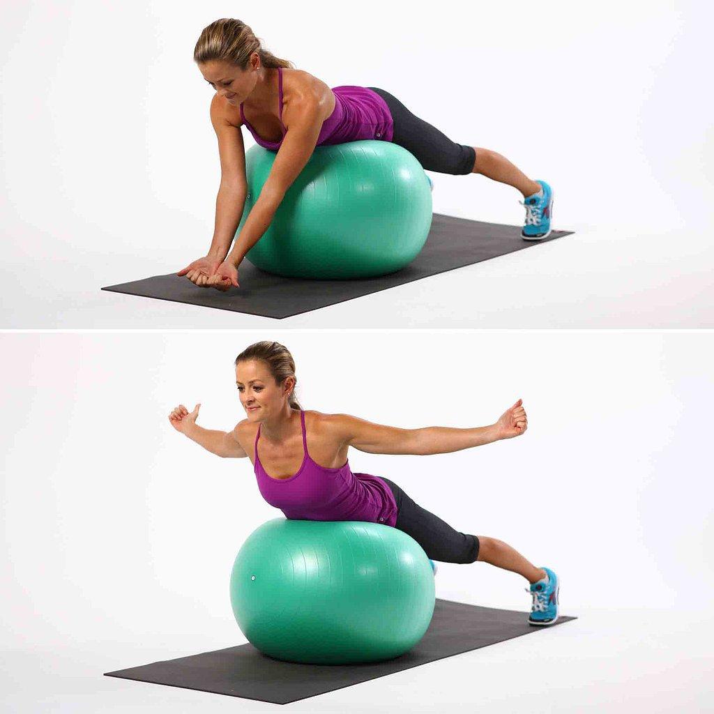 Упражнения с гимнастическим мячом — sportfito — сайт о спорте и здоровом образе жизни