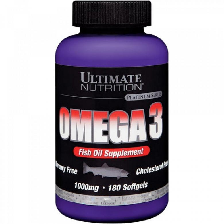 Omega 3 1000мг 90 капс (ultimate nutrition)