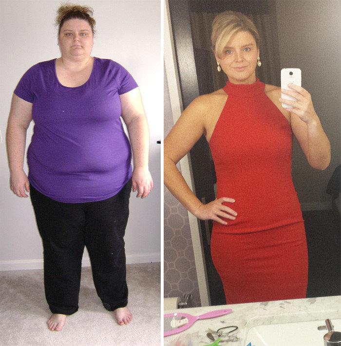 Невероятные истории похудения, реальные люди с фото до и после