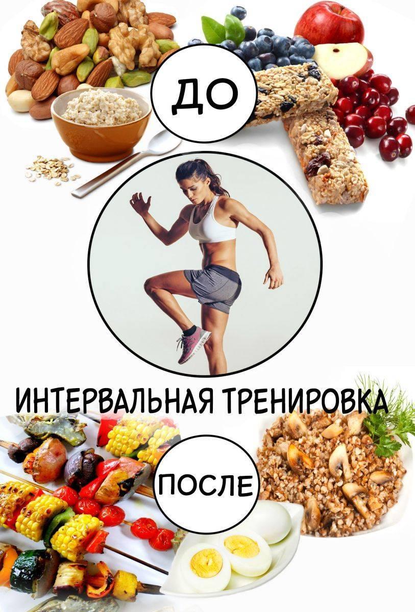 Что есть до и после тренировки для похудения