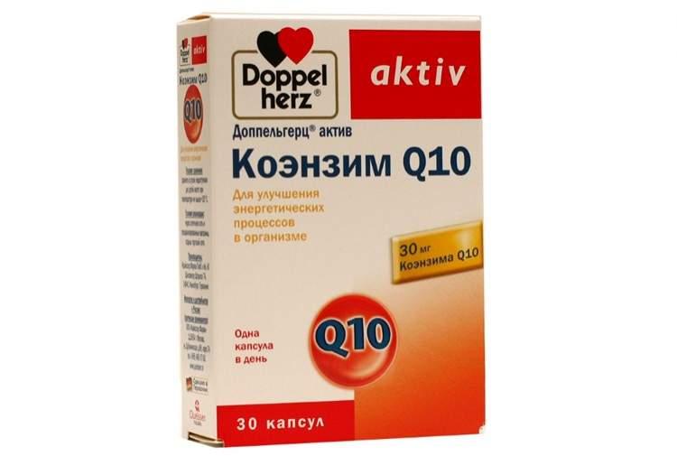 Коэнзим q10: польза и вред
