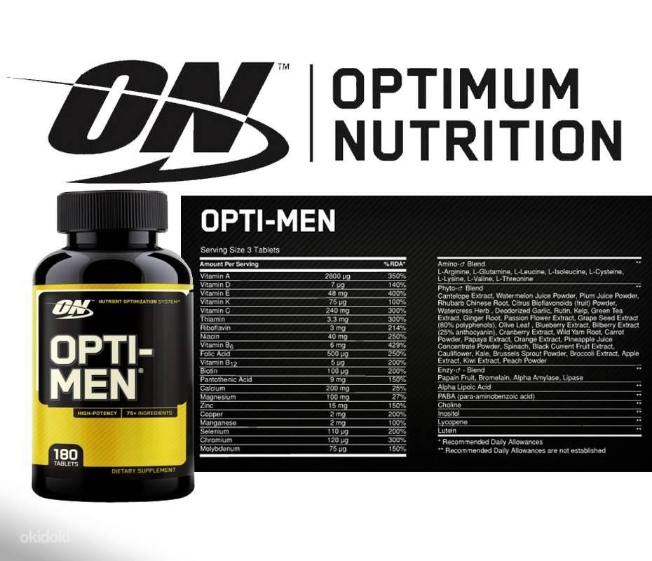 Витамины opti-men: отзывы, показания и побочные эффекты