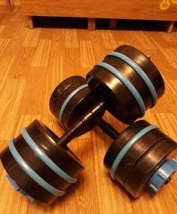 Тренировка дома   что использовать вместо гантели и штанги?