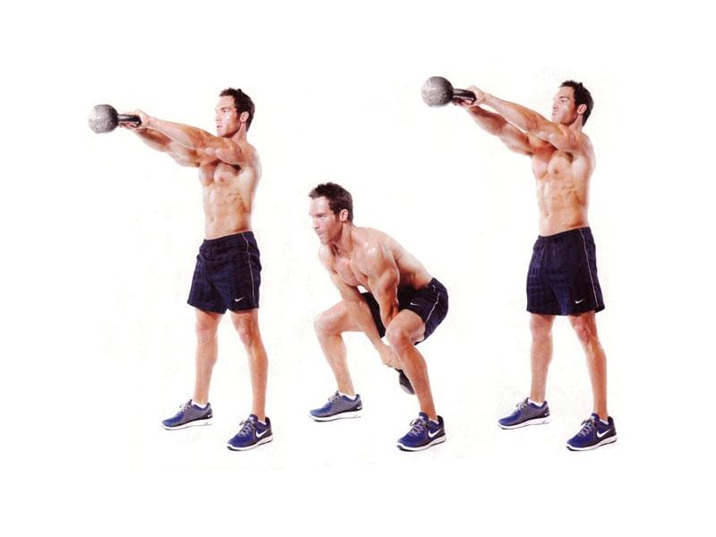 Упражнения с гирей: топ 30 упражнений