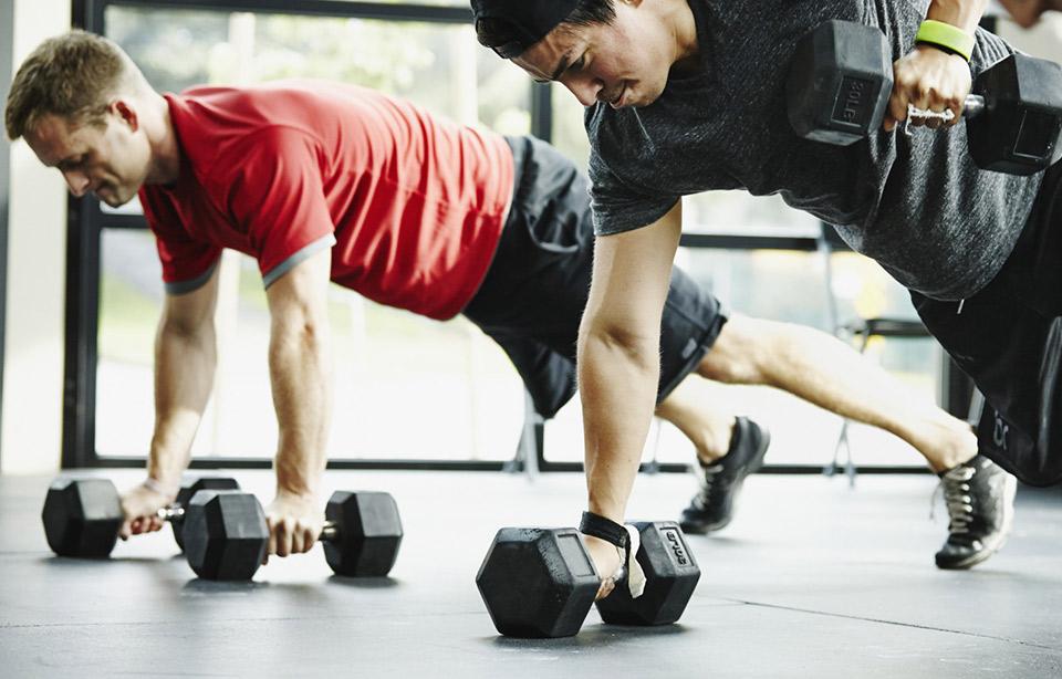 Круговая тренировка для бойцов мма и борцов