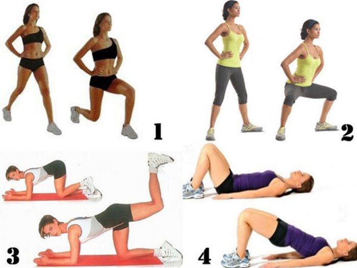 Утренняя зарядка для похудения живота, боков и бедер