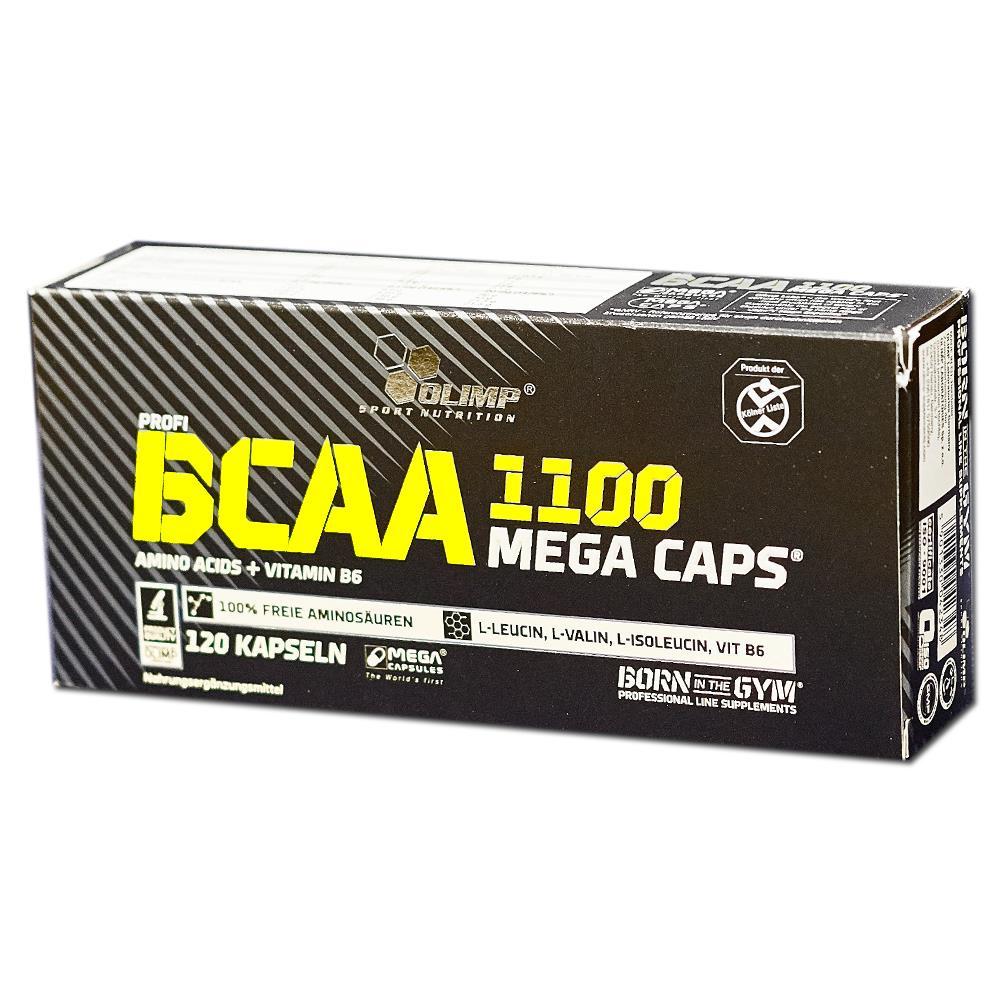 Bcaa mega caps 1100 300 капс (olimp) купить в москве по низкой цене – магазин спортивного питания pitprofi
