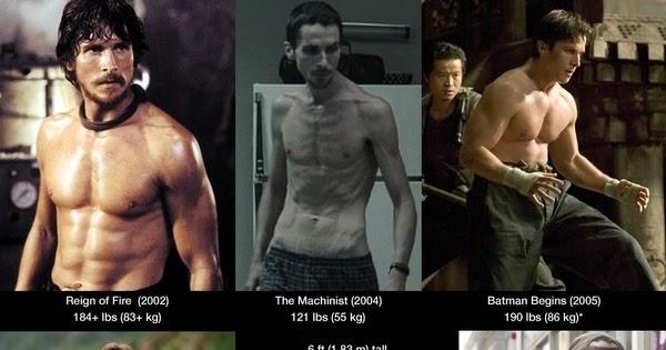 Кристиан бейл трансформация тела для отличной фигуры, программа тренировок бетмена