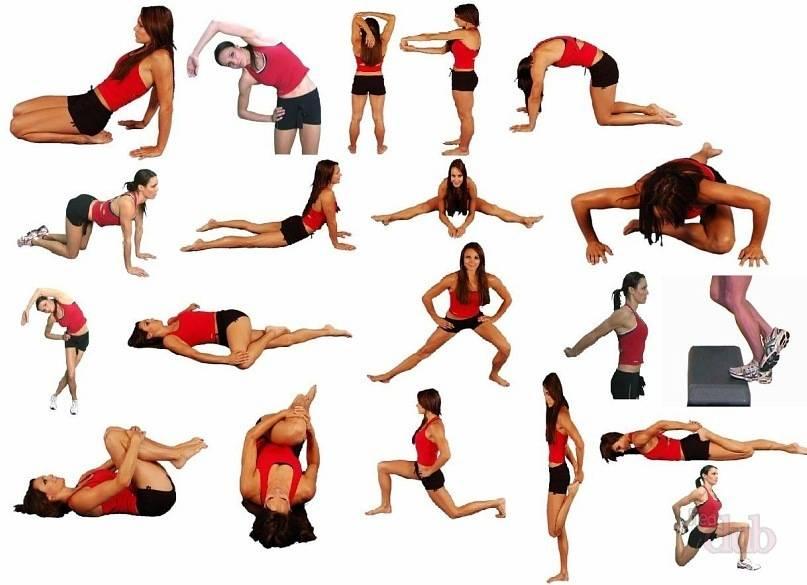 Стретчинг-упражнения для похудения