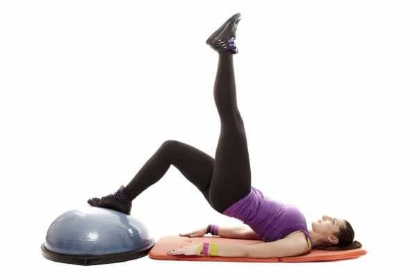 Платформа bosu: упражнения на тренажере