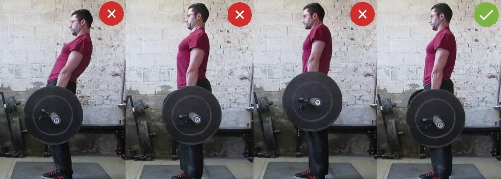 Становая тяга — техника выполнения