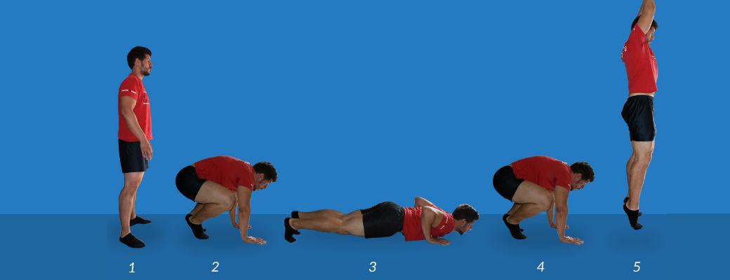 Тренировки берпи: техника выполнения для начинающих, как правильно делать упражнения