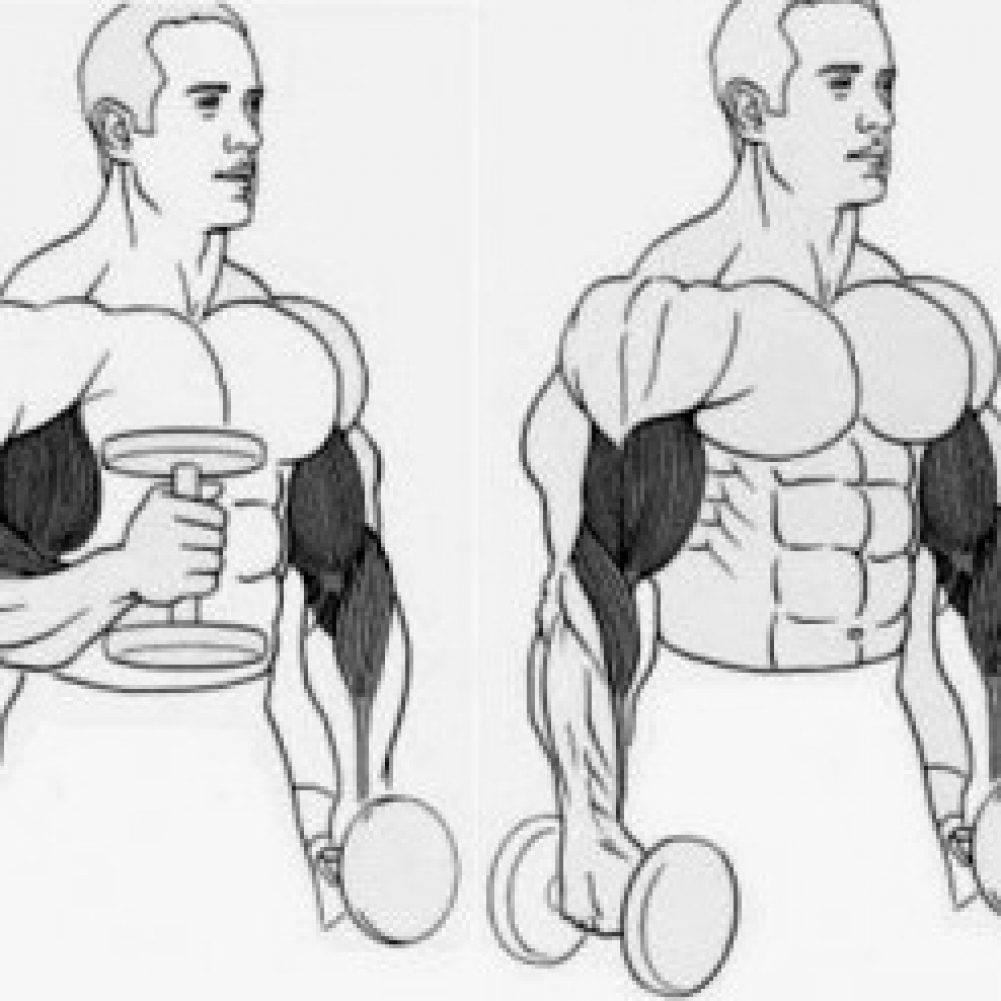 Упражнения с кувалдой и покрышкой: польза и техника выполнения