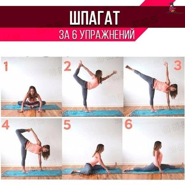 Как сесть на поперечный шпагат - секреты и упражнения