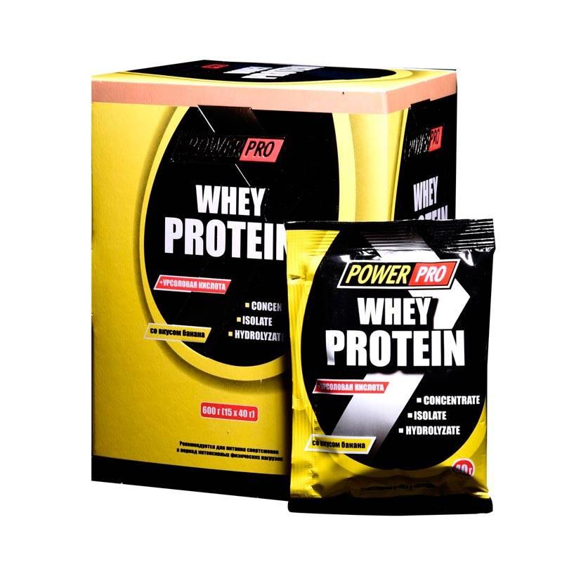 Whey protein от power pro: как принимать, состав и отзывы