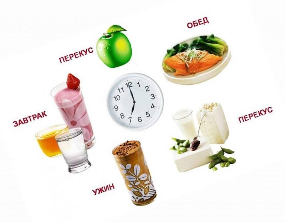 Режим питания для похудения - правила и режим дня