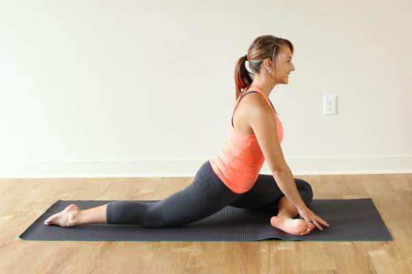 Капотасана или поза голубя: глубокий прогиб для продвинутых в йоге