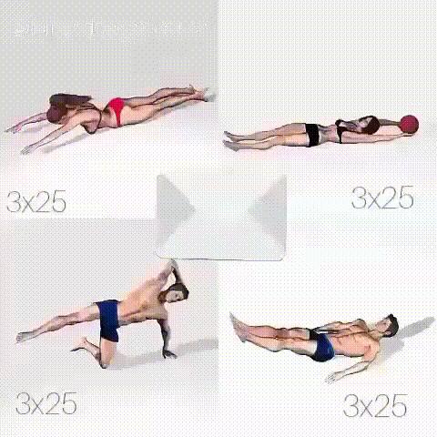 Где находятся мышцы кора и как их накачать?