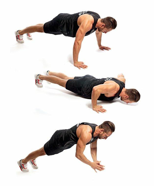 Отжимания с хлопком: как научиться делать и польза упражнения
