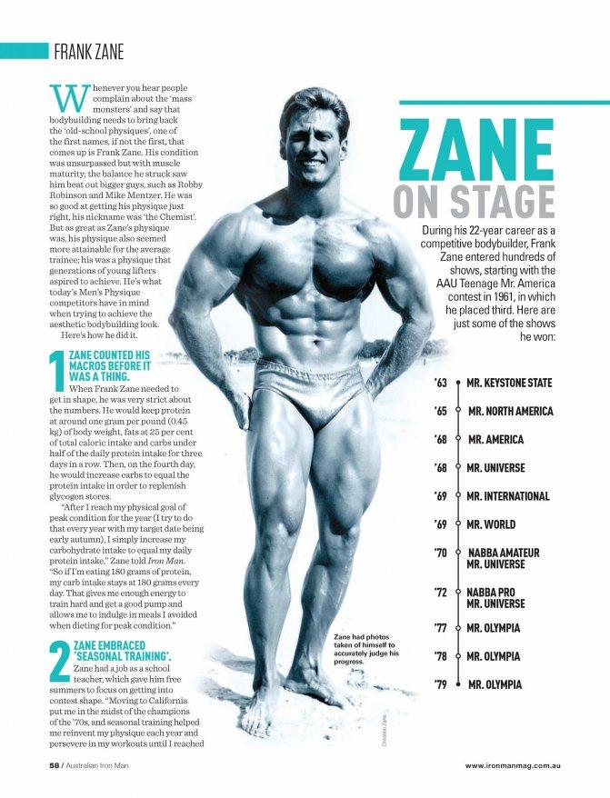Фрэнк зейн — биография, тренировки, личная жизнь, новости 2018