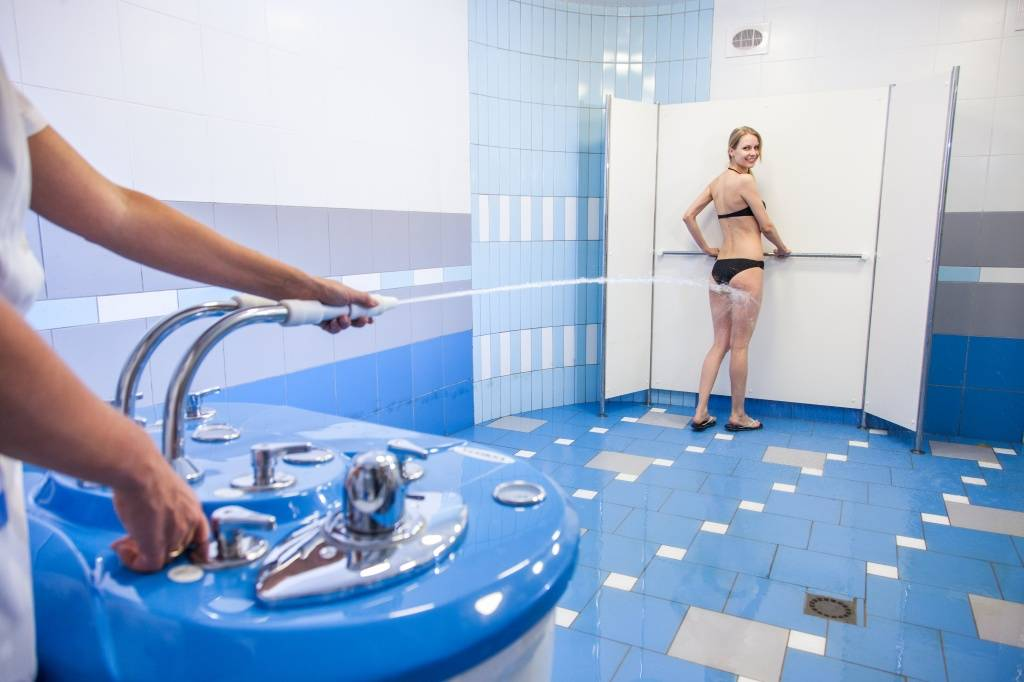 Процедура душ шарко